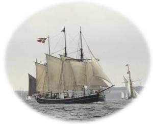 Fulton af Marstal sejler
